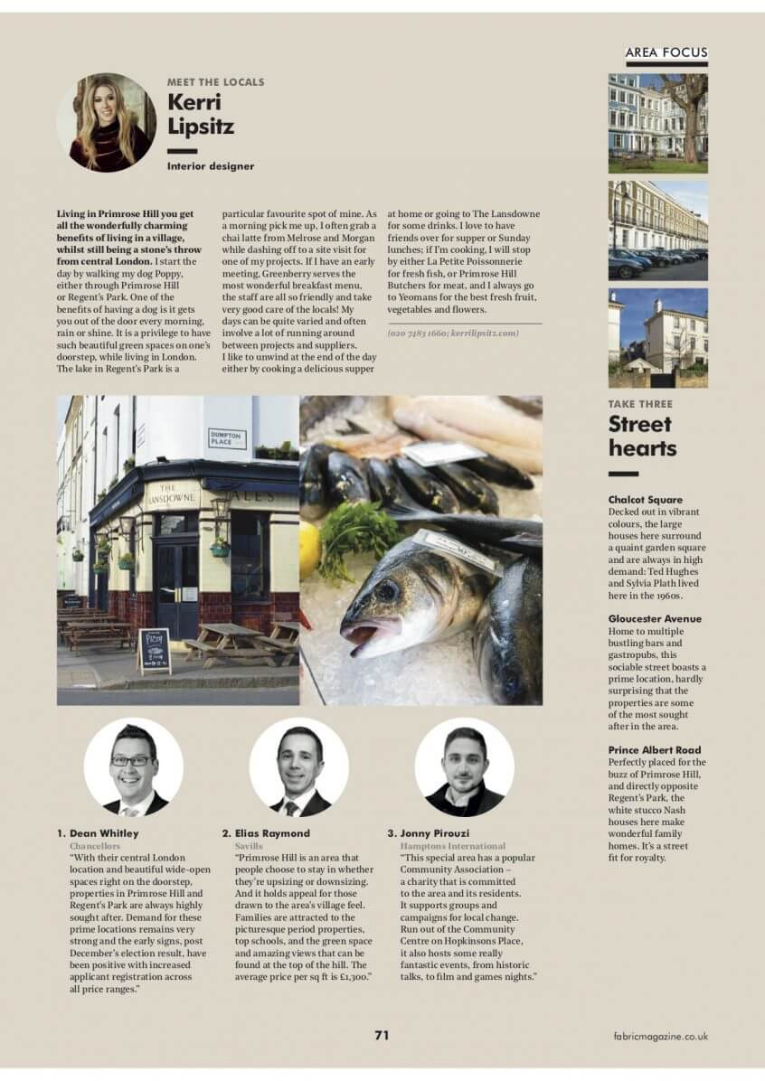 Fabric Magazine March 2020 Meet The Locals